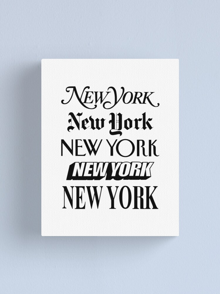 Alternate view of New York New York Canvas Print