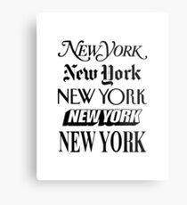 New York, New York Metallbild