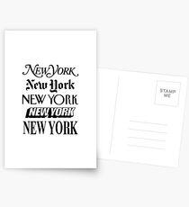 Postales Nueva York, Nueva York