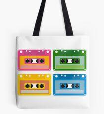 audio cassette Tote Bag