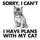 Netter Katzen-Entwurf, lustiges Katzenhemd, Katzen-Kleid, lustige Katze von futureculture