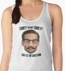Tobey or Not Tobey? That is the Question. Women's Tank Top