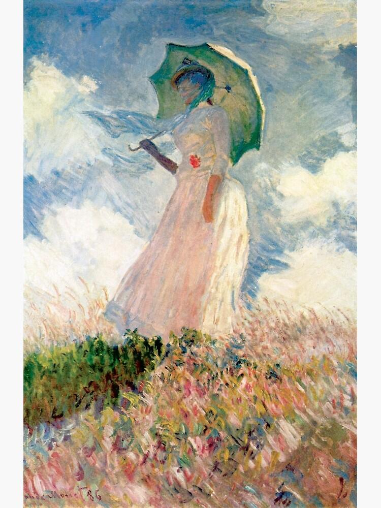 Claude Monet - Frau mit Sonnenschirm, Studie von mosfunky
