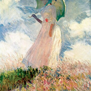 Claude Monet - Woman with a Parasol, Study by mosfunky