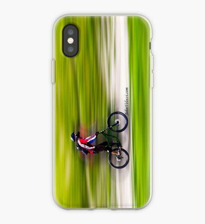 Mountain Biker iPhone Case