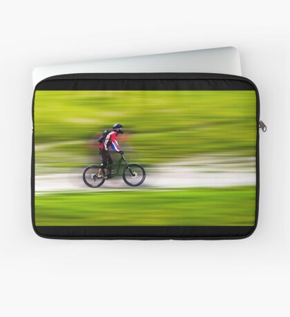 Mountain Biker Laptop Sleeve
