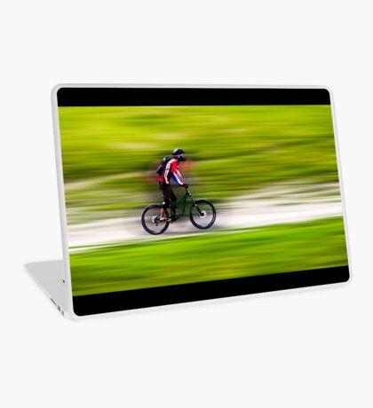 Mountain Biker Laptop Skin