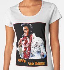 ELVIS : Vintage Viva Las Vegas Advertising Print Women's Premium T-Shirt