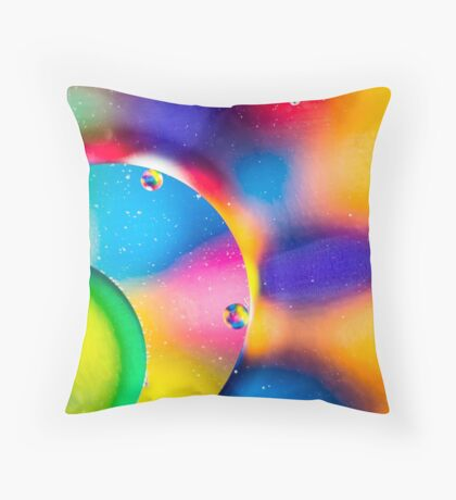 Oil & Water 6 Throw Pillow