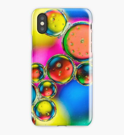 Oil & Water 3 iPhone Case