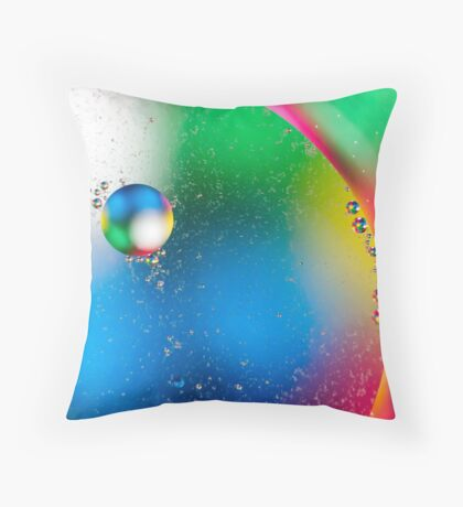 Oil & Water 2 Throw Pillow