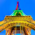 Eiffel Tower 2 by John Velocci