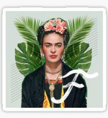 Frida Collage Sticker
