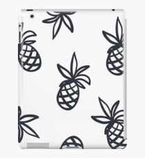 Pineapple Outline Pattern Texture iPad Case/Skin
