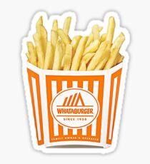 Whataburger Fries Sticker