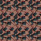 Patriotic Grunge-style American Flag by Gravityx9