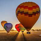 Balloons at Sunrise by robcaddy