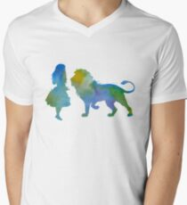 A lion and a girl T-Shirt