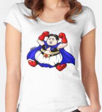 KIM JONG-BU Women's Fitted Scoop T-Shirt