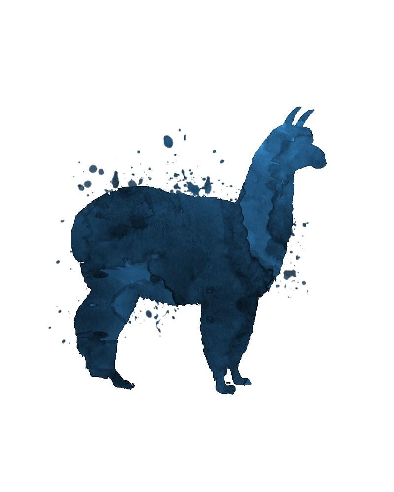 A cute llama by TheJollyMarten