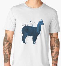 A cute llama Men's Premium T-Shirt