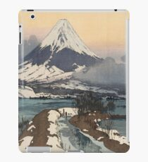 Fuji from Kawaguchiko Lake by Hiroshi Yoshida iPad Case/Skin