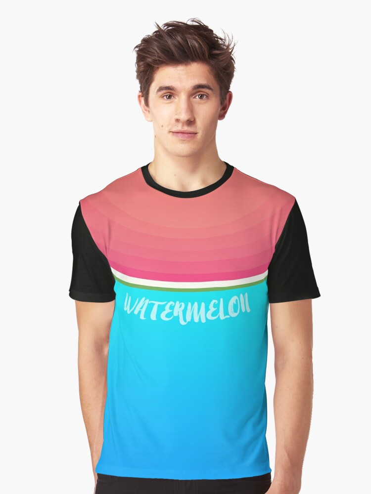 Watermelon Graphic T-Shirt Front