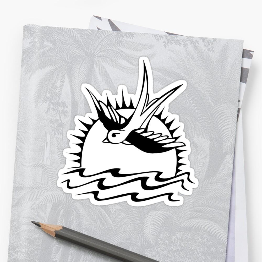 Jack Sparrows Tattoo Sticker