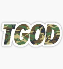 TGODcamouflage Sticker