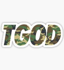 TGODcamouflage Sticker