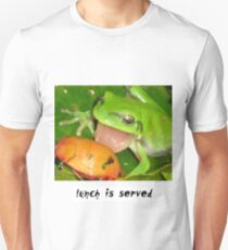 lunch is served Unisex T-Shirt
