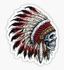 Indischer Schädel Sticker