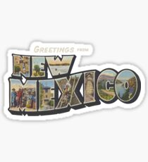 Greetings from New Mexico 1 Sticker