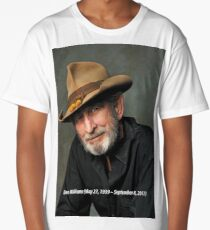 The Legend in Memoriam Don Williams Long T-Shirt