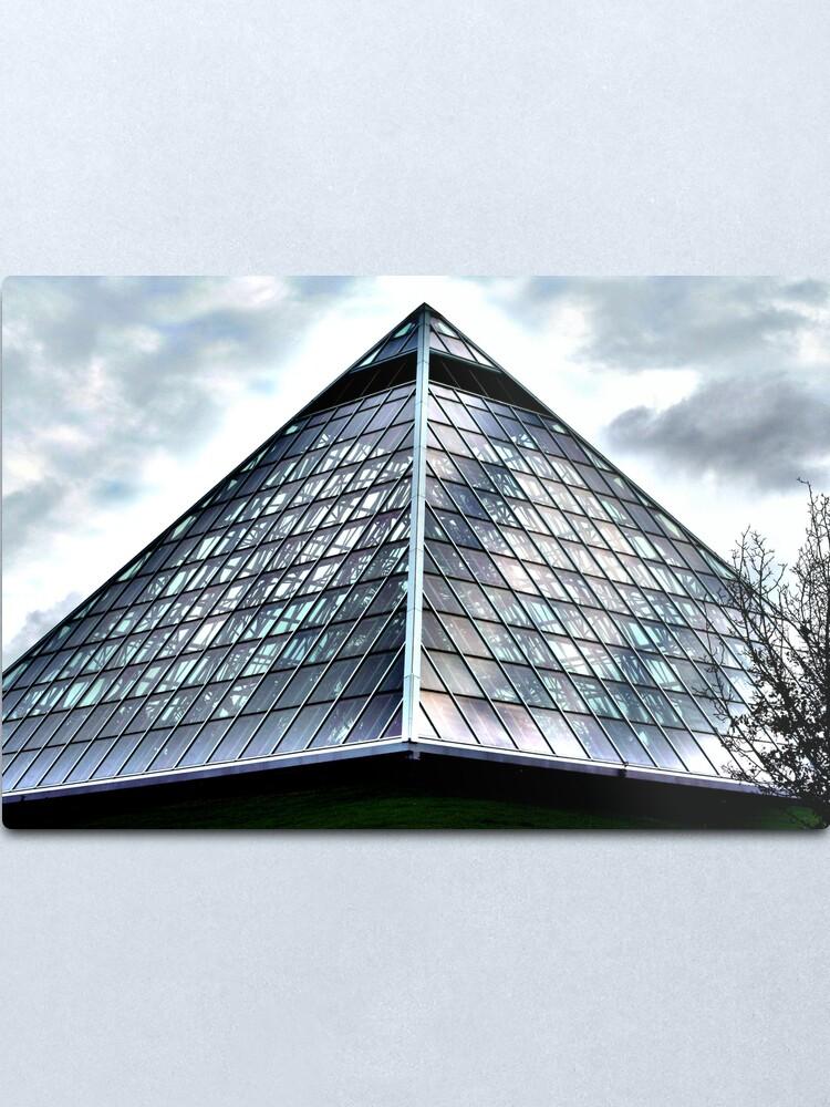 Alternate view of Alien Pyramid Metal Print