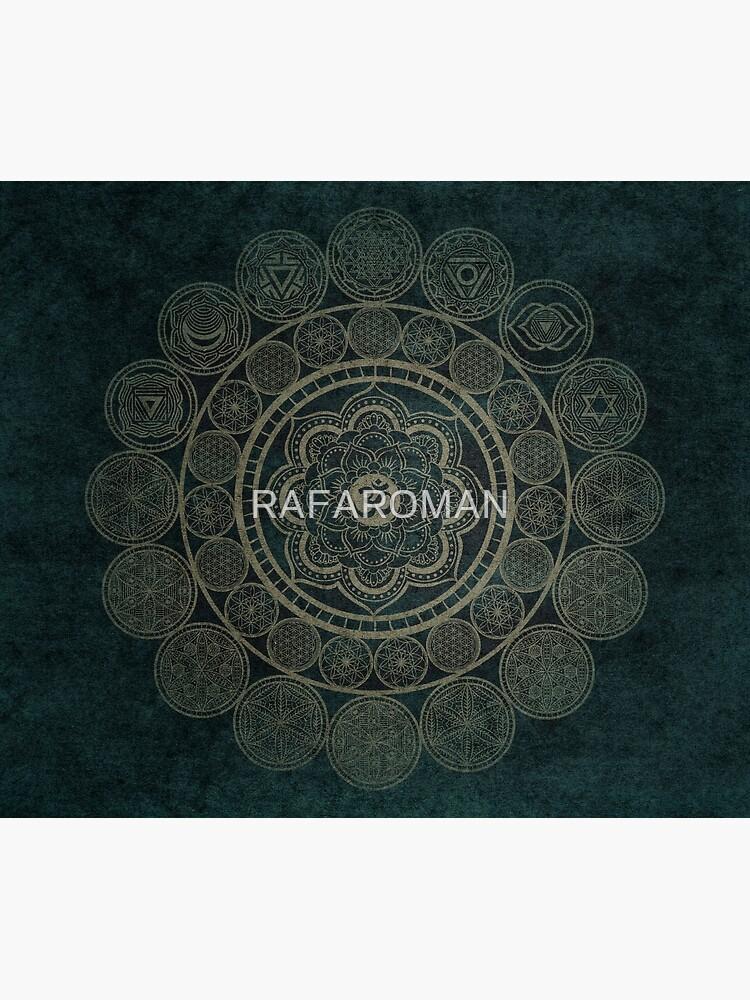 Heilige Geometrie - Kreisförmige Verbindungen von RAFAROMAN