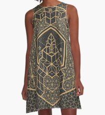 Die innere Wahrheit A-Linien Kleid