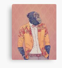 Alvin the Ape Canvas Print