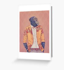 Alvin the Ape Greeting Card