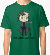 """""""I'm With Watson"""" Classic T-Shirt"""