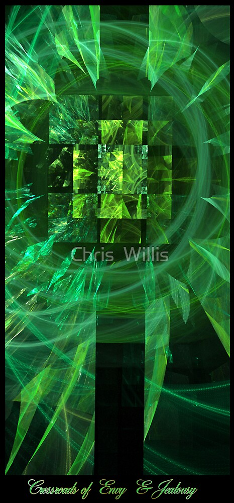 The Crossroads of Envy and Jealousy by Chris  Willis