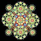 Constellation Mandala II by PatriciaSheaArt