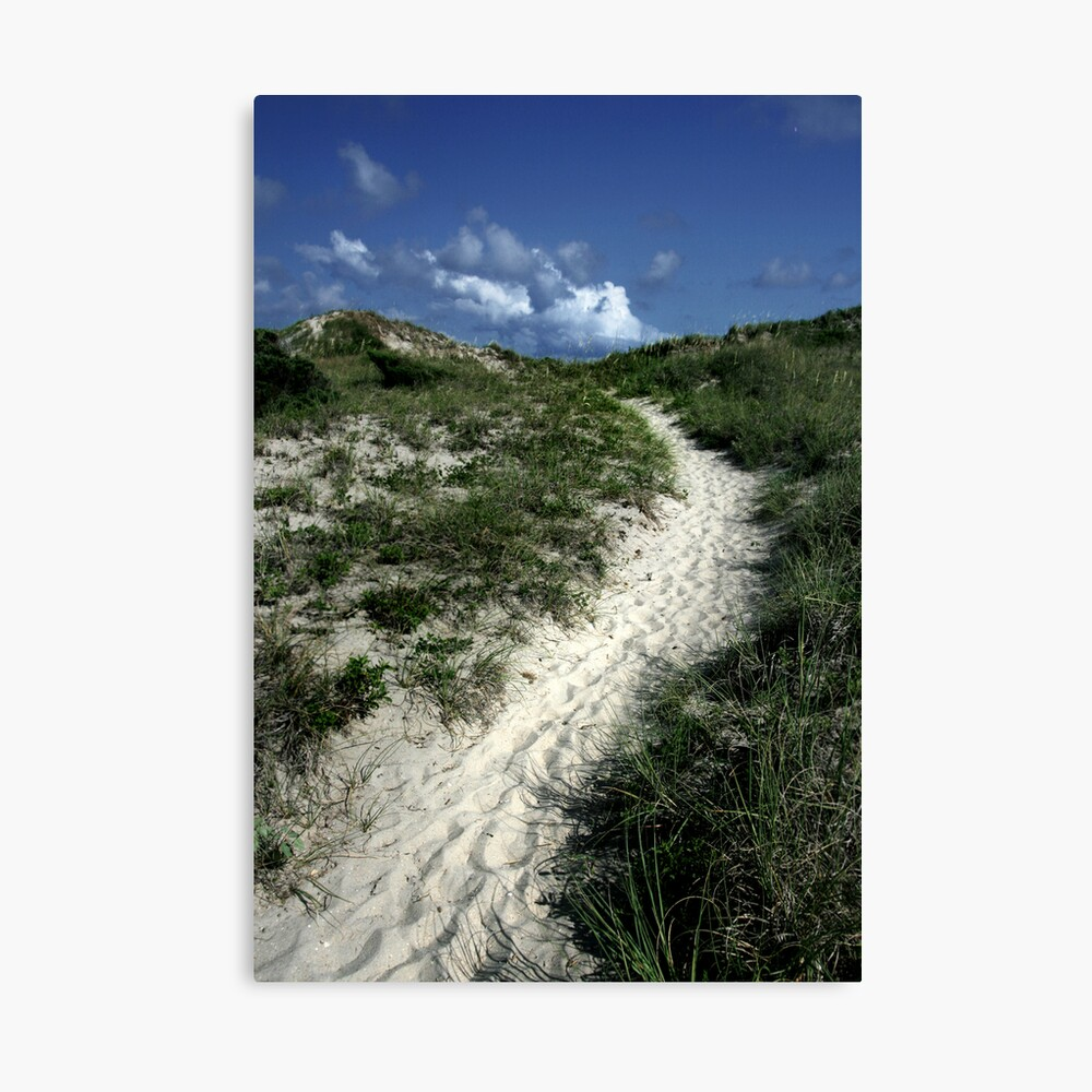 A Sandy Stairway to Heaven  Canvas Print