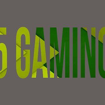 green 5 Gaming logo by 5-gaming