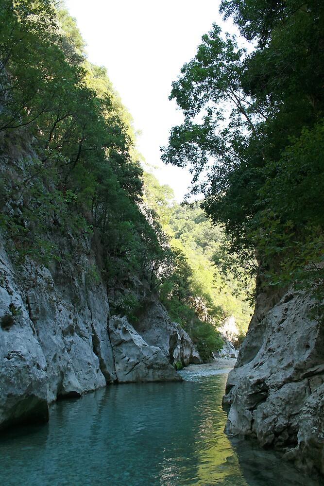 The Acheron Gorge by DRWilliams