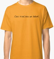 This is not a tshirt Classic T-Shirt