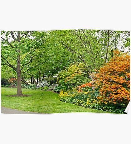 Philadelphia's Azalea Garden - Pennsylvania - USA Poster