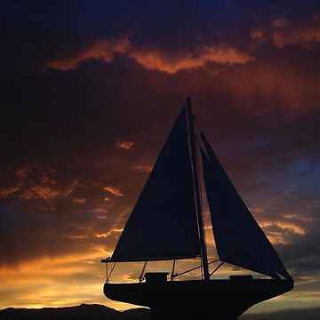 Sunset Sailing by DylanW1202