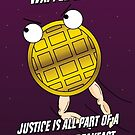 Waffle-Man by muscularbiscuit