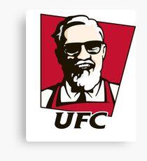 UFC-KFC Parody Canvas Print